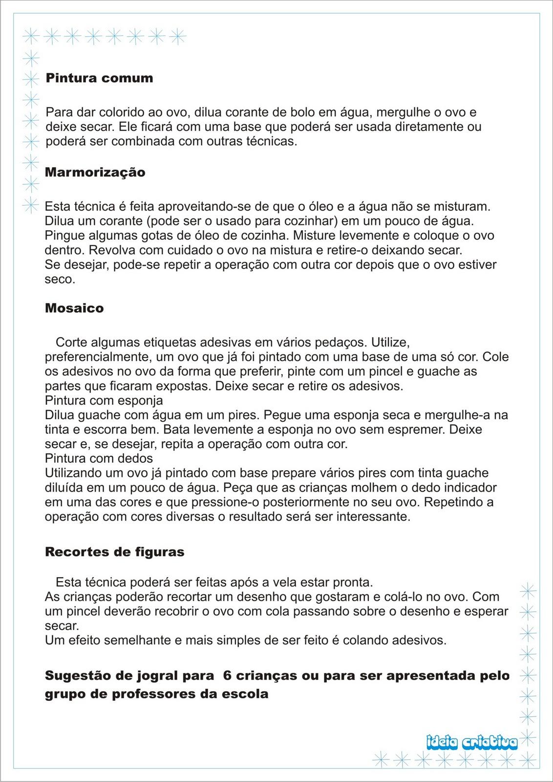 Super Projeto Páscoa Ideia Criativa | Ideia Criativa - Gi Barbosa  RI72