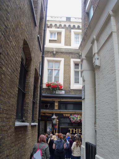 Medieval alleyway