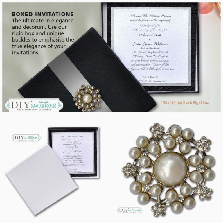 DIY Wedding Invitations, DIY Invitations Boxes and Embellishments