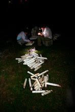 Actividad de conteo de jueyes. Trampas para atrapar cangrejos.