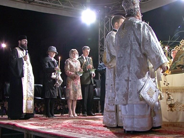 Principesa Moştenitoare Margareta, Principele Radu - slujba de înviere, Paşte 2014