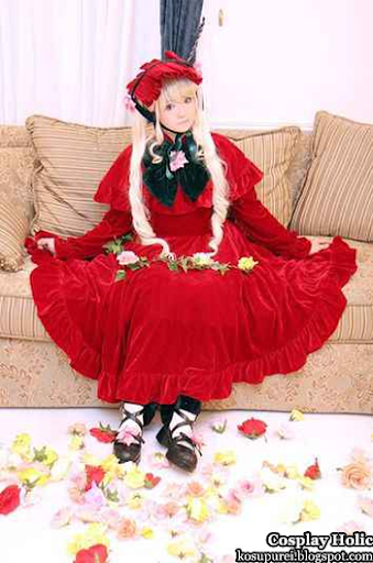 rozen maiden cosplay - shinku