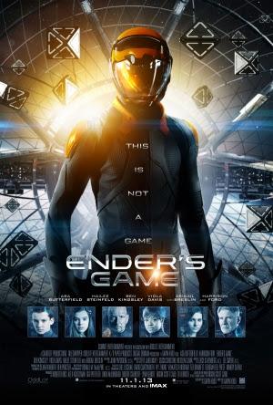 Filme Poster Ender's Game – O Jogo do Exterminador HDRip XviD Dual Audio & RMVB Dublado
