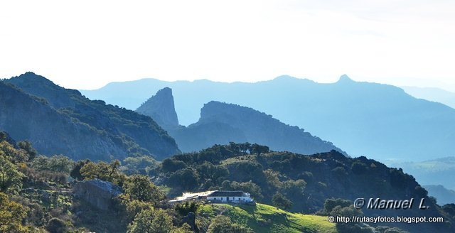 Benaocaz-Jauletas-Coargazal-Puerto del Boyar
