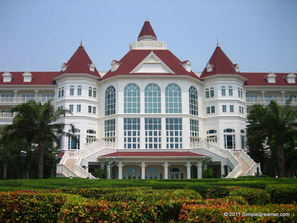 Hong kong disneyland hotel, lantau island, hong kong