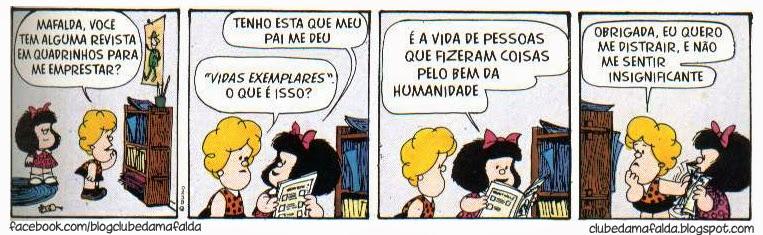 Clube da Mafalda: Tirinha 582