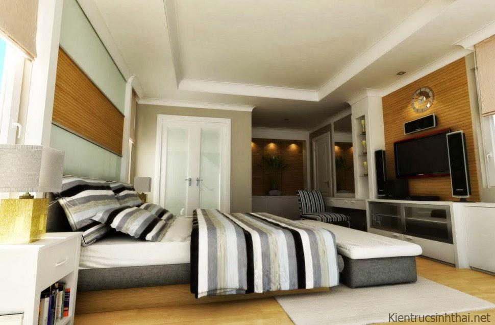 Phòng ngủ cá tính , hiện đại