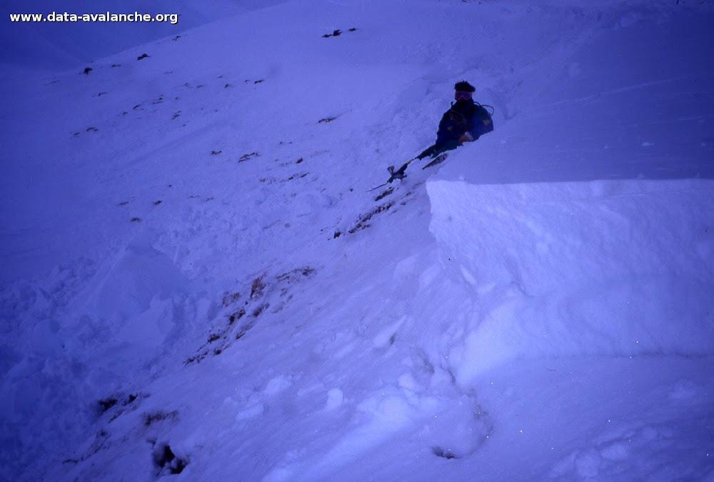 Avalanche Mont Thabor, secteur Punta Bagna, Rive gauche du Goulet du Col - Photo 1