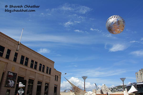 Civic Square's Silver Fern Ball, Welllington, New Zealand