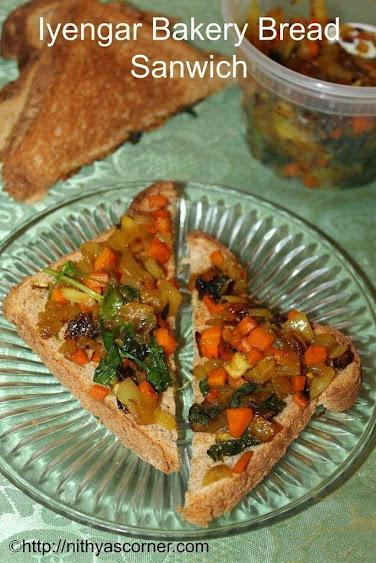 Iyengar Bakery Bread Sandwich