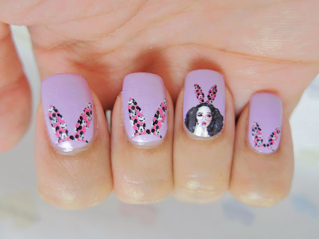 Hippie Chic Girl Nail Wraps MDS1006