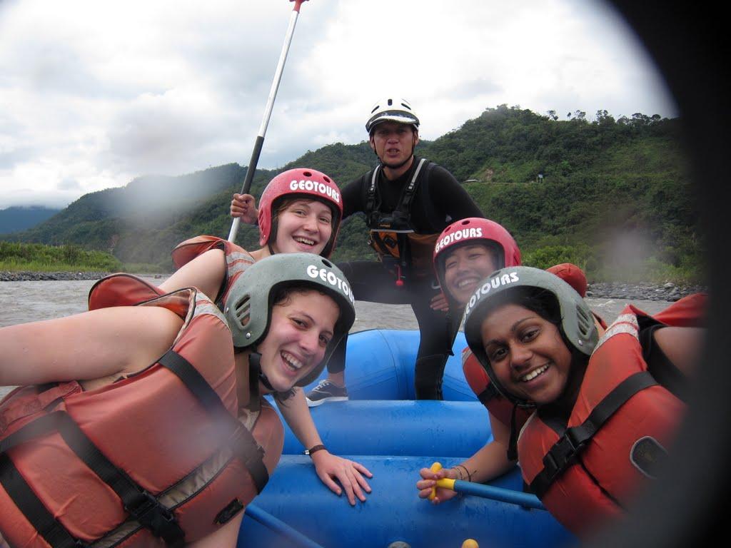 Rafting Pastaza River in Baños