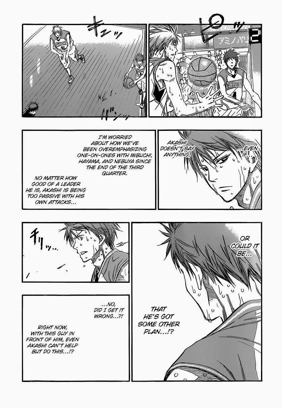 Kuroko no Basket Manga Chapter 259 - Image 05