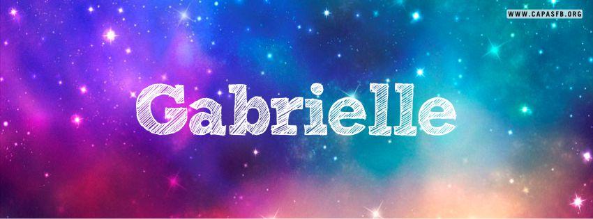 Capas para Facebook Gabrielle