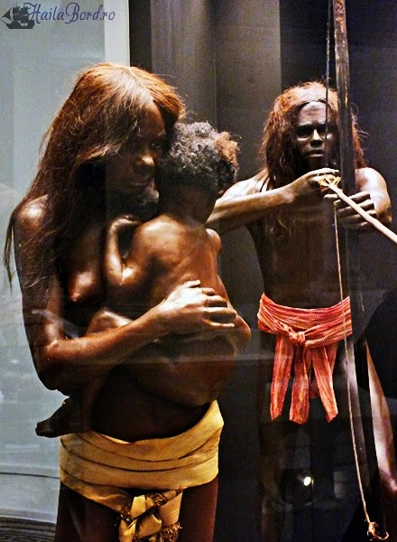 oameni preistorici muzeul antipa bucegi