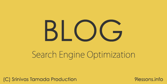SEO for Blogging .