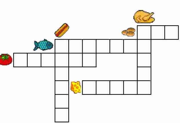 Crucigramas para niños primero primaria para imprimir - Imagui