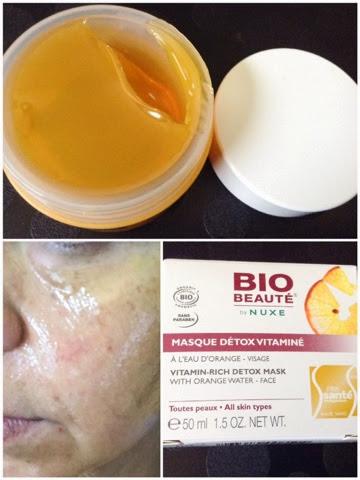 Masque detox vitamine nuxe biobeaute