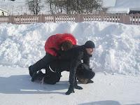 Фоторепортаж с тренинга по ньяса-йоге 12-18 февраля 2012г в Карпатах.777