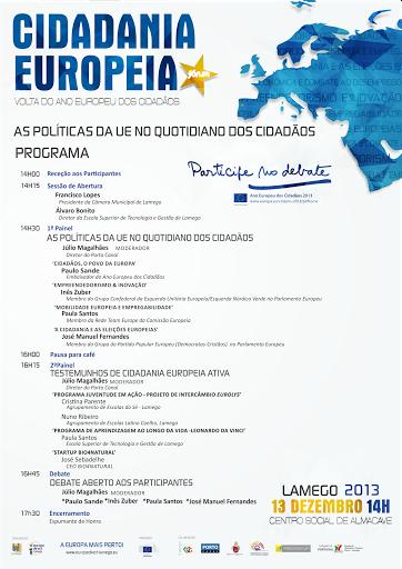 Eurodeputados debatem construção europeia em Lamego