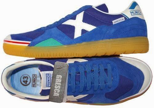 best sport shoes for flat feet  MUNICH - Gresca 605 - Indoor Soccer ... 6911669d02