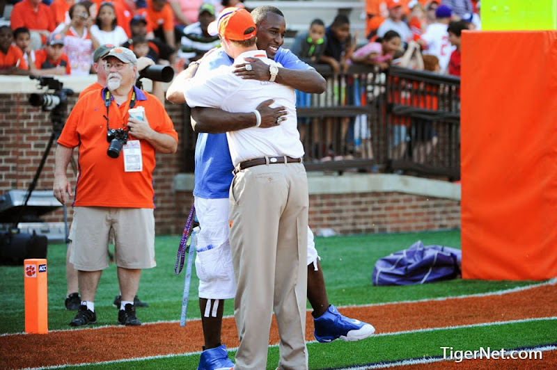 2014 Spring Game Photos - 2014, Dabo Swinney, Football, Jonathan Willard, Orange and White