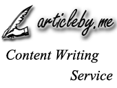 Article By Me - Content Writing Service