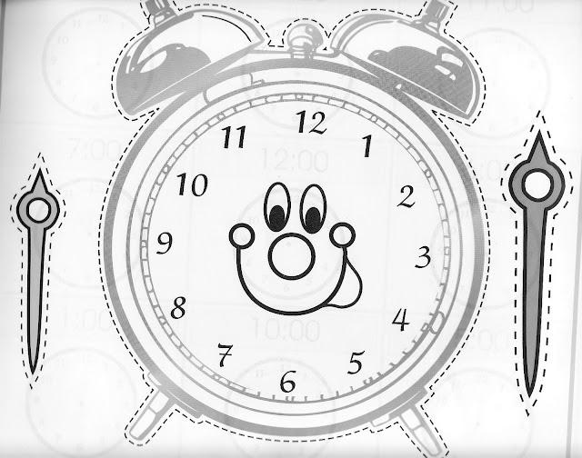 Manualidades Con Mis Hijas Reloj Para Aprender Las Horas