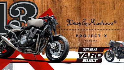 YARD BUILT XJR1300 'PROJECT X' BY DEUS