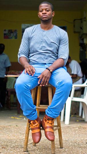 Fred Deegbe Heel The World Ghana África zapatos moda diseñador