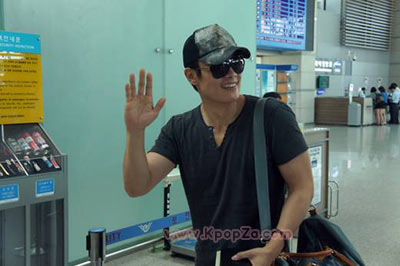 Lee Byung Hoon ออกเดินทางไปอเมริกาเพื่อเริ่มถ่ายทำ GI Joe 2