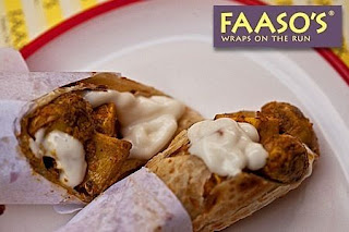 Faaso's wrap + brownie offer