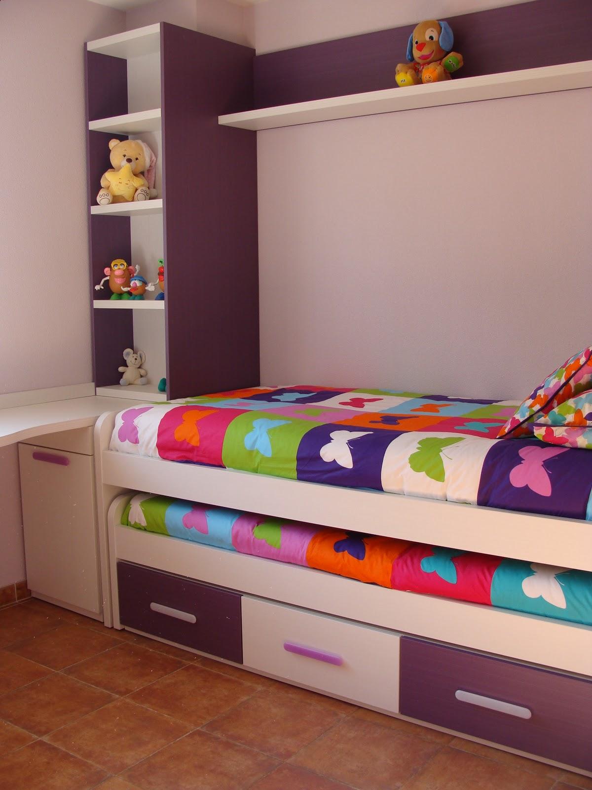 Tienda dormitorios juveniles decoraci n integral para tu - Camas dobles infantiles para espacios reducidos ...