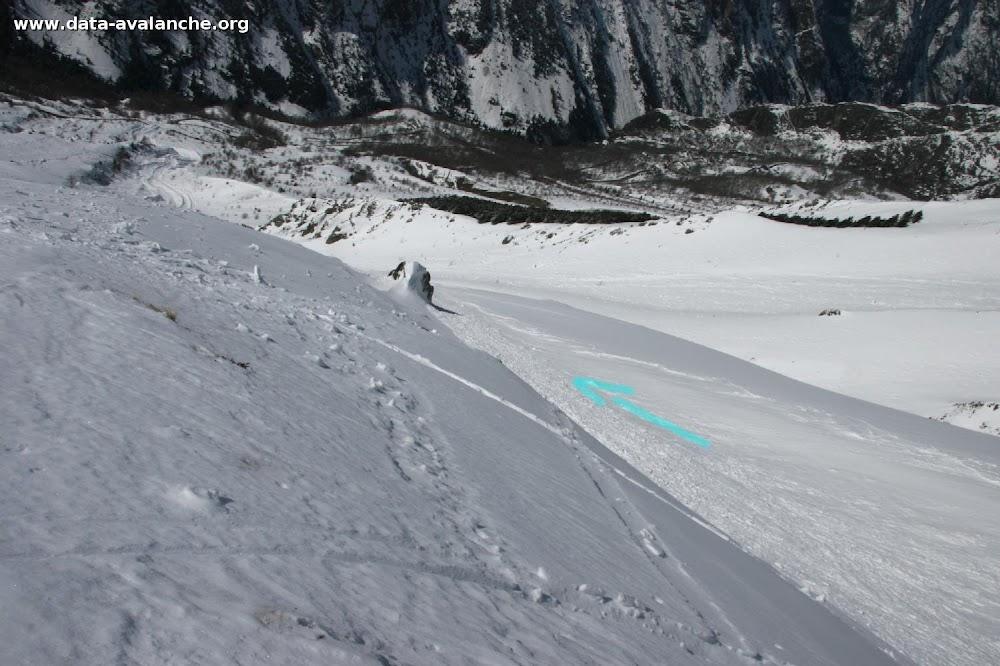 Avalanche Oisans, secteur Soreiller, Combne de l'Aiguillat - Photo 1