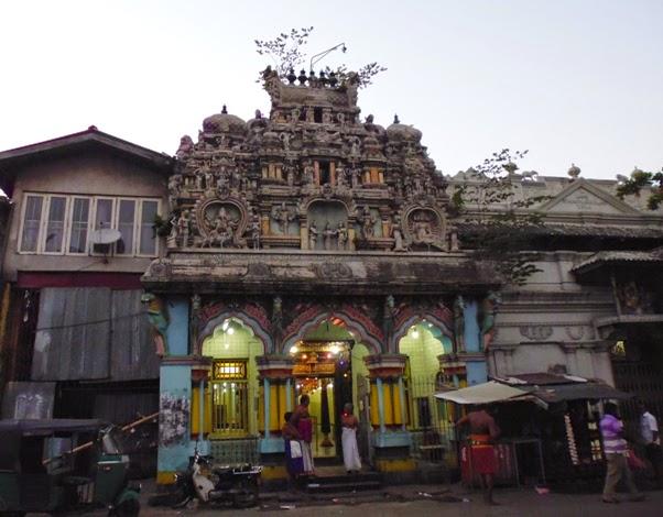 индуистский храм в Коломбо