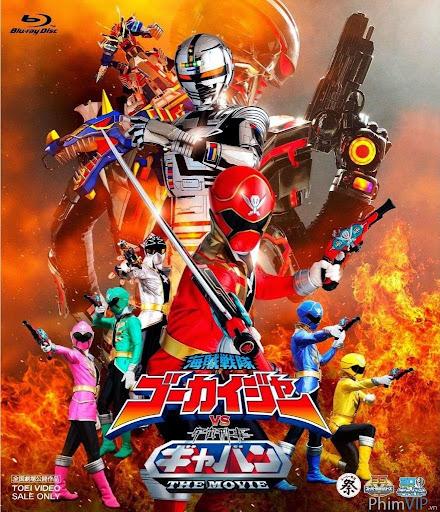 Siêu Nhân Hải Tặc Đại Chiến Cảnh Sát Ngân Hà - Kaizoku Sentai Gokaiger Vs. Uchuu Keiji Gavan poster