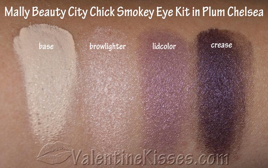 Valentine Kisses: Mally Beauty City Chick Smokey Eye Kit in Plum ...