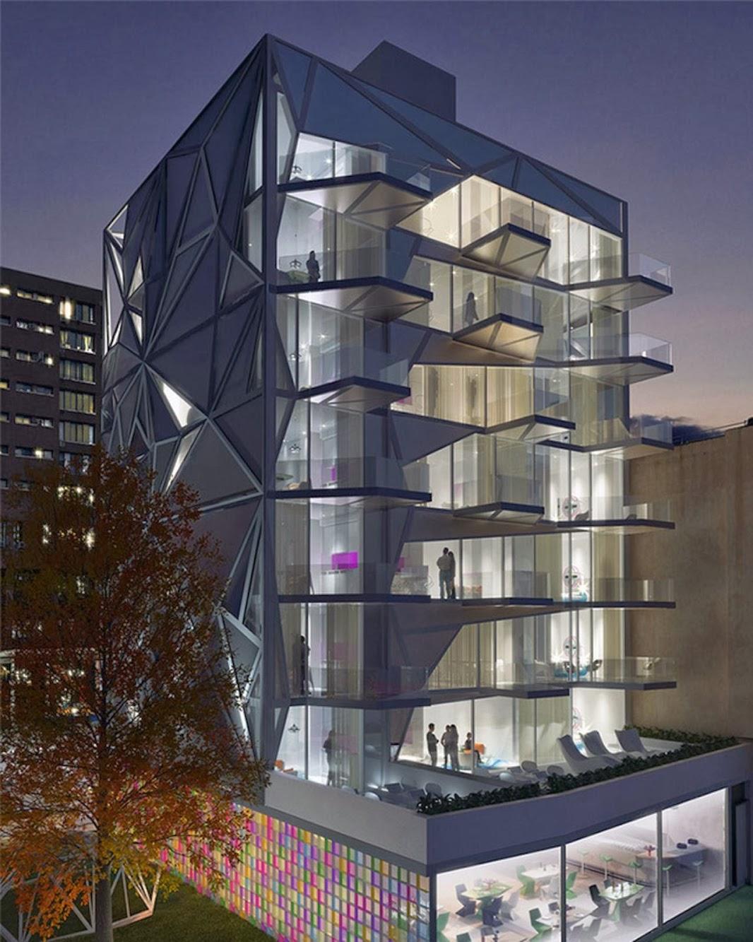 Atelier D Architecture Alexandre Dreyssé manhattan, new york, stati uniti: hap six nykarim rashid