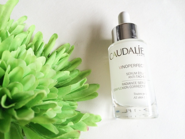 Caudalie Vinoperfect serum review. Before and after photos.