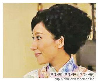 楊怡的「木偶鼻」被網民指太突出,吸引他們專注看鼻而忽略劇情。(電視圖片)