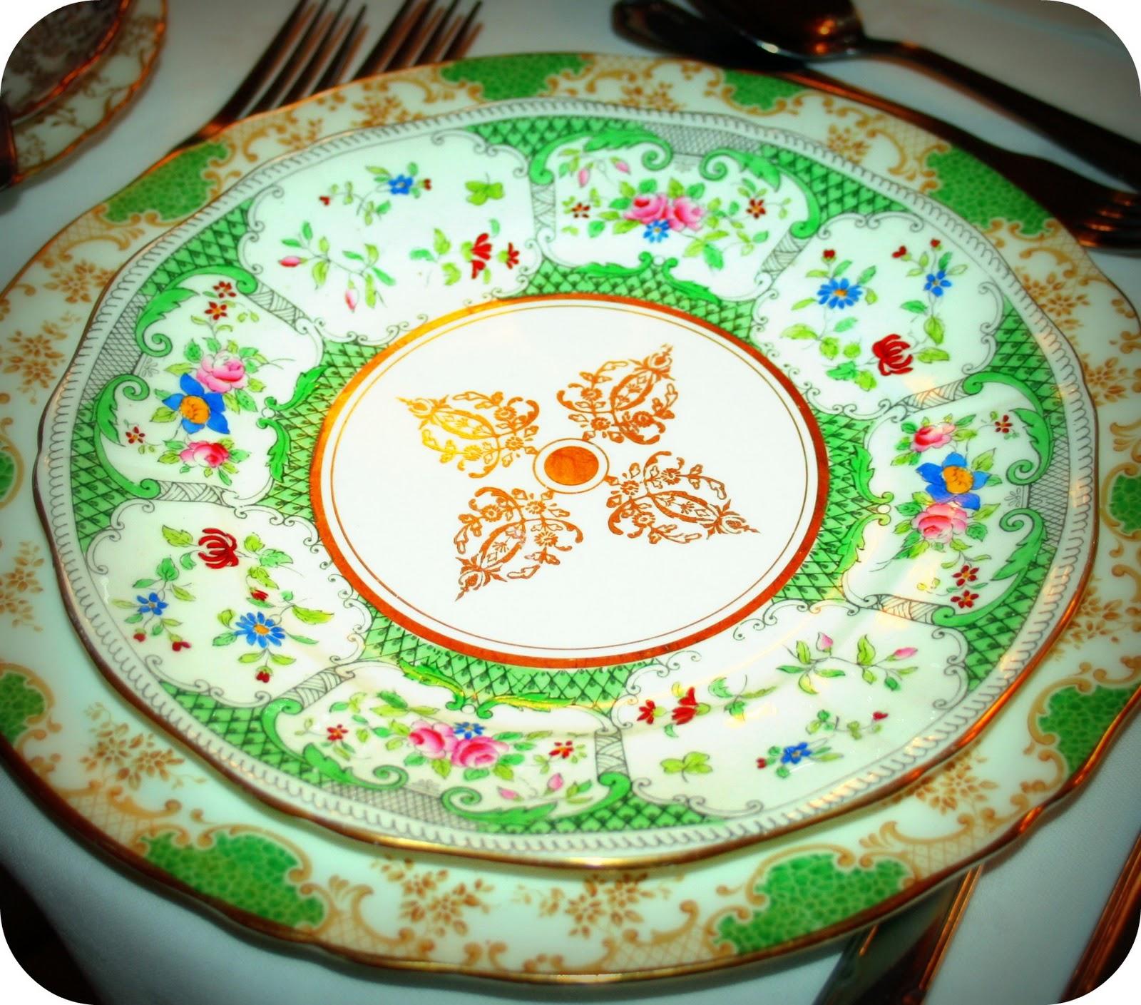 fancy vintage: happy st. patricks vintage green china day,