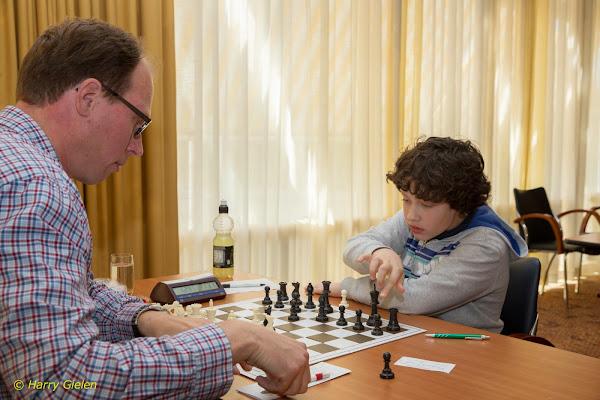 Raoul (links) tegen Abedin
