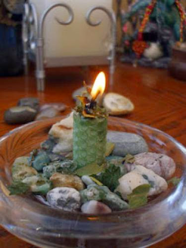 Simple Imbolc Candle Ritual