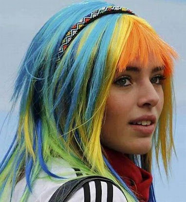 rainbow hair color 3