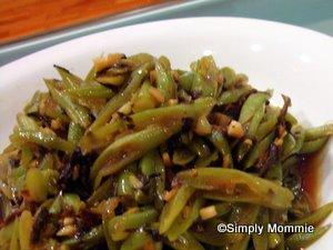 french beans stir fry