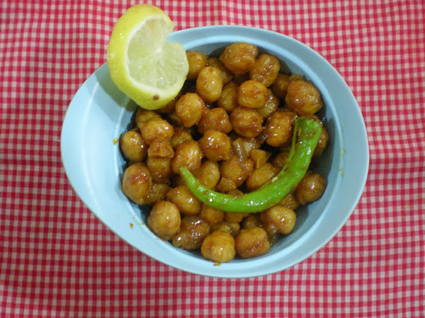 Chana Masala(Dry) Recipe