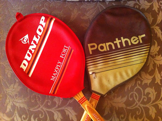 Dunlop Maxfly, raquetas antiguas