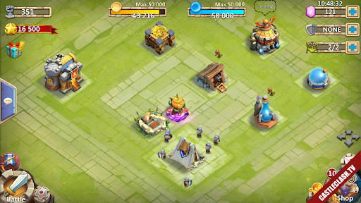 Sell Account Castle Clash NO NAME have Pumpkin Duke