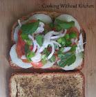 Za'atar pizza or sandwich