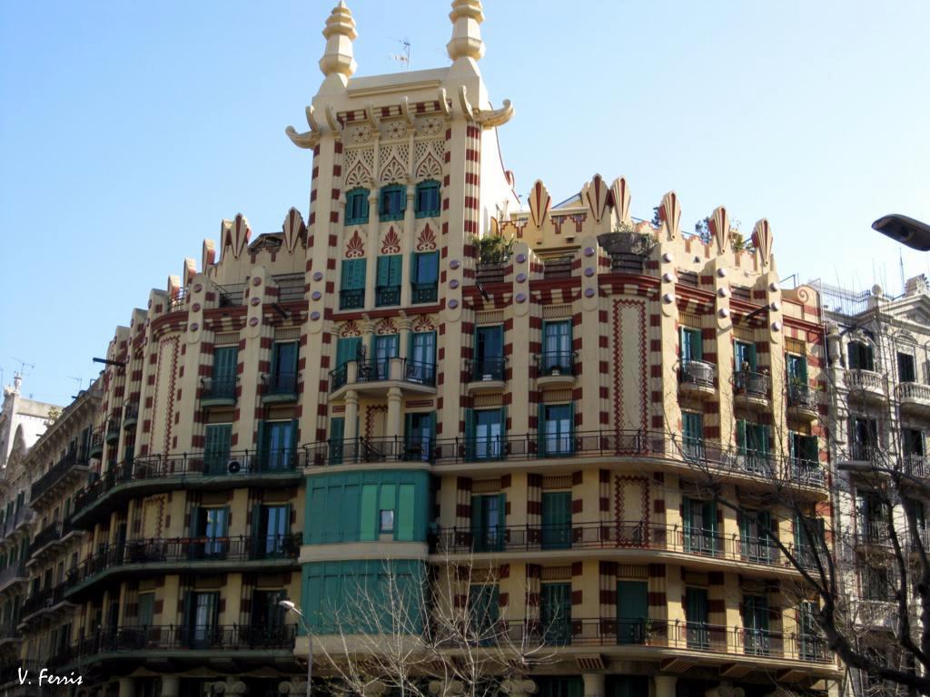 Casa china fernando guardiola barcelona modernista - Casas modernistas barcelona ...